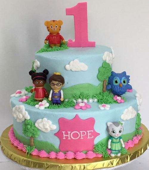 Phenomenal Daniel Tiger Cake Sweet Creations By Stacy Llc Funny Birthday Cards Online Elaedamsfinfo