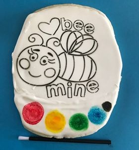 Bee Mine PIY Cookie Valentine