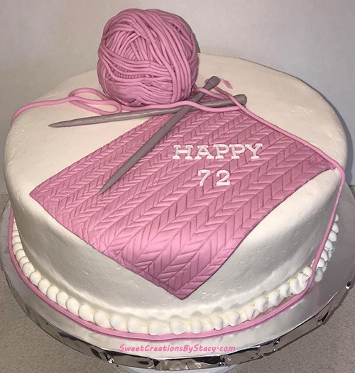 Yarn Knit Cake