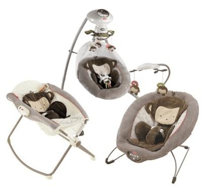 Target Fisher Price Snugamonkey Cradle N Swing Rock N