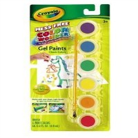 crayola gel paints