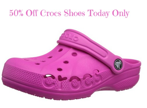 caf81c074 50% Off Crocs Shoes Today Only - Sweet Deals 4 Moms