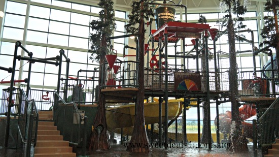 waterpark play structure