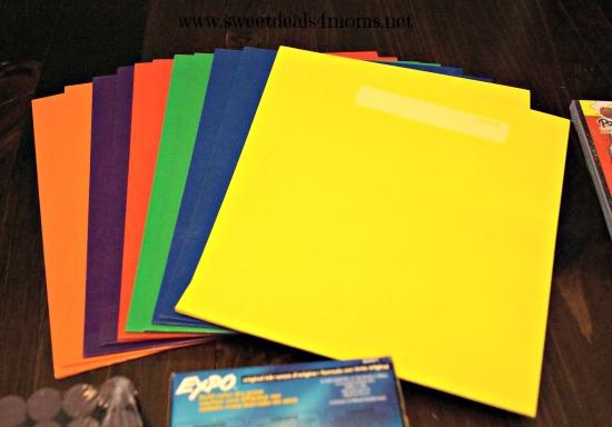 oriental trading folders