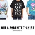 Fortnite T-Shirt Giveaway (Ends 1/27)