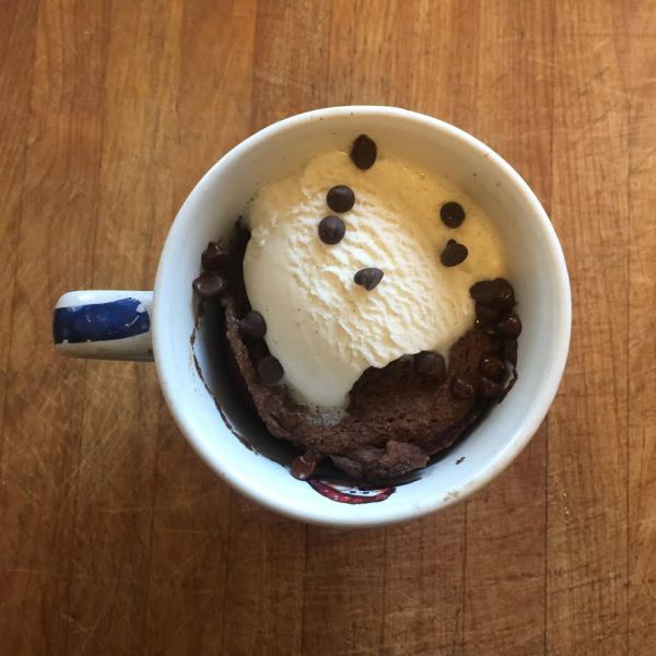 perfect paleo chocolate mug cake