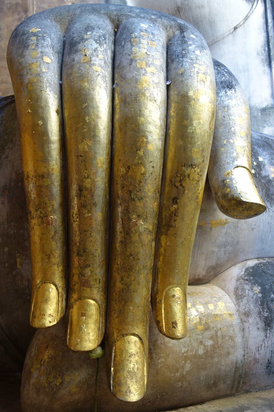 The famous Buddha hand