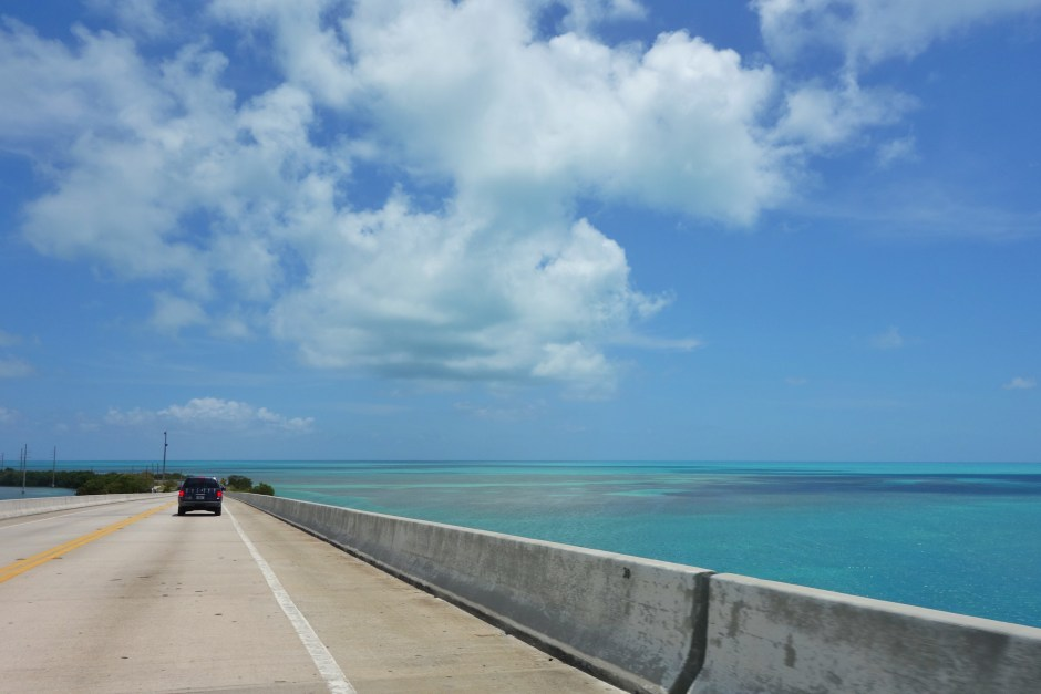The view from the Overseas Highway