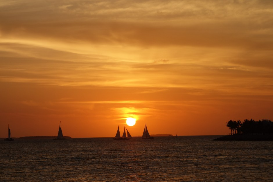 Beautiful Key West sunset...