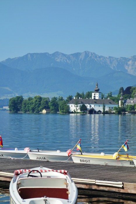 "My ""personal"" boat at Traunsee ;)"