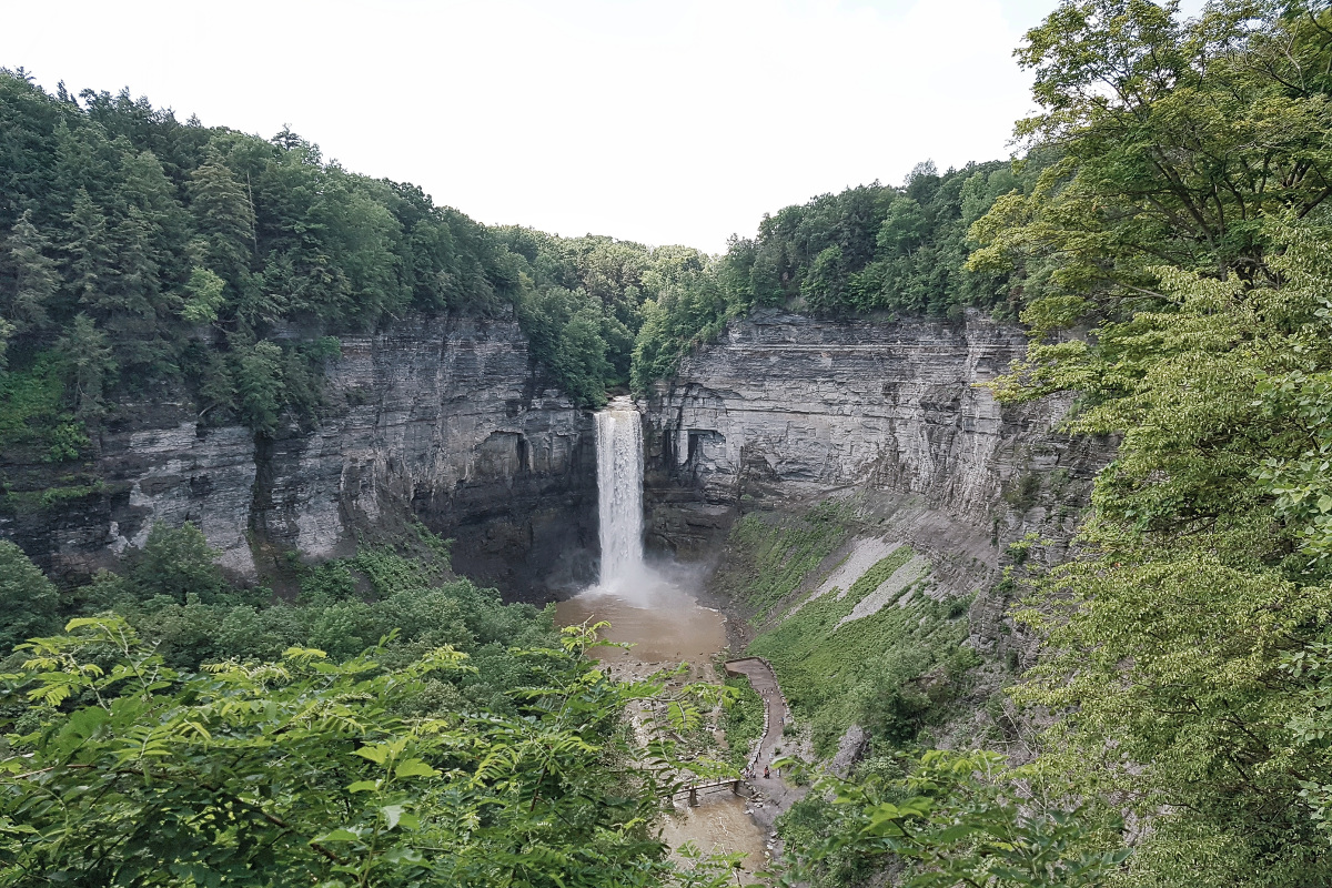 Ithaca - New York's gorges college town