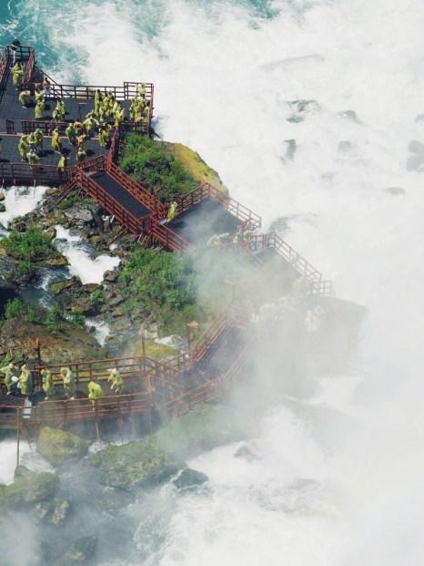 Niagara Falls Canadian vs US side