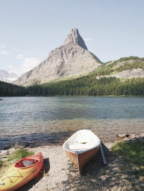 Glacier National Park easy hikes