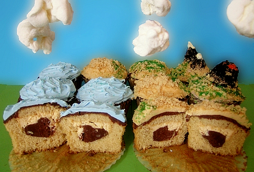 Earth Cupcakes Sweetest Kitchen