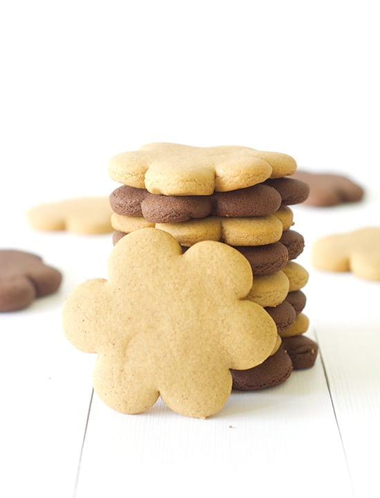 Gingerbread Cookies Two Ways