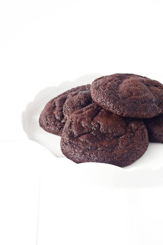 Caramel Stuffed Chocolate Cookies