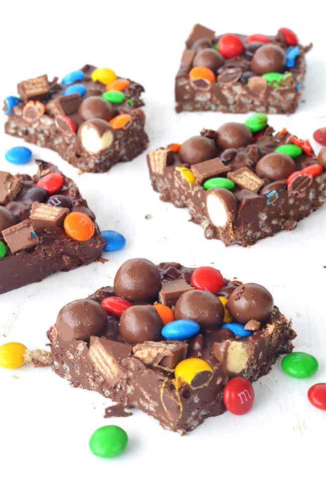 Candy Crunch Chocolate Bar