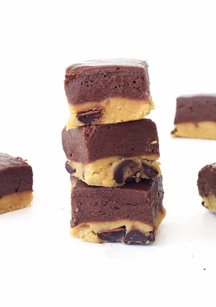 Cookie Dough Chocolate Fudge Cookie Dough Chocolate
