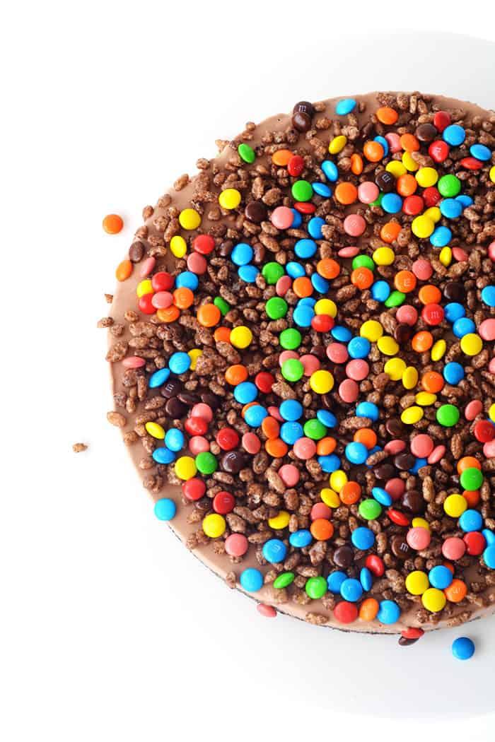 Crunchy Chocolate Milkshake Ice Cream Cake