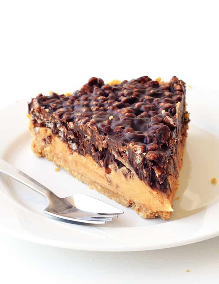 Peanut Butter Chocolate Crunch Pie