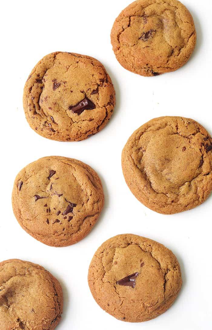 Chocolate Chunk Molasses Cookies