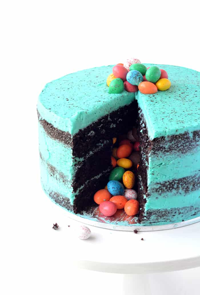 Christmas Pinata Cake Recipe