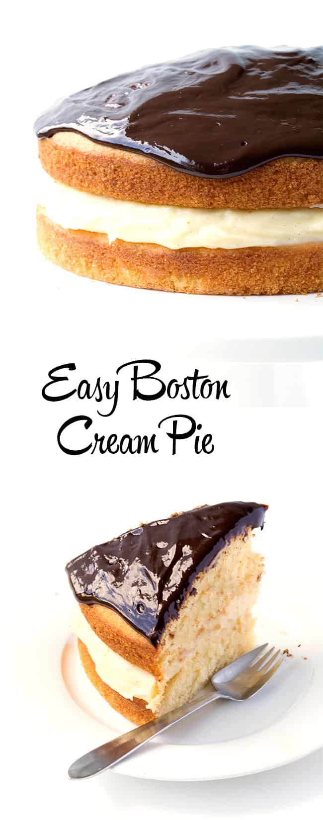 Boston Cream Pie | Sweetest Menu