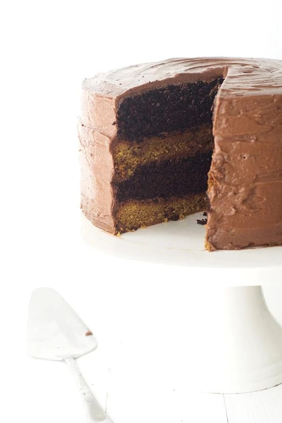 Double Chocolate Cookie Layer Cake - Sweetest Menu