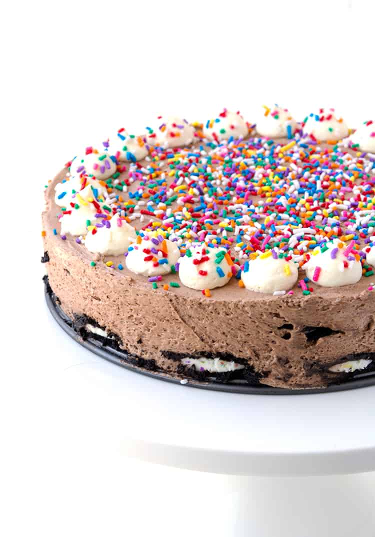 Birthday Cake Oreo Icebox Cake | Sweetest Menu