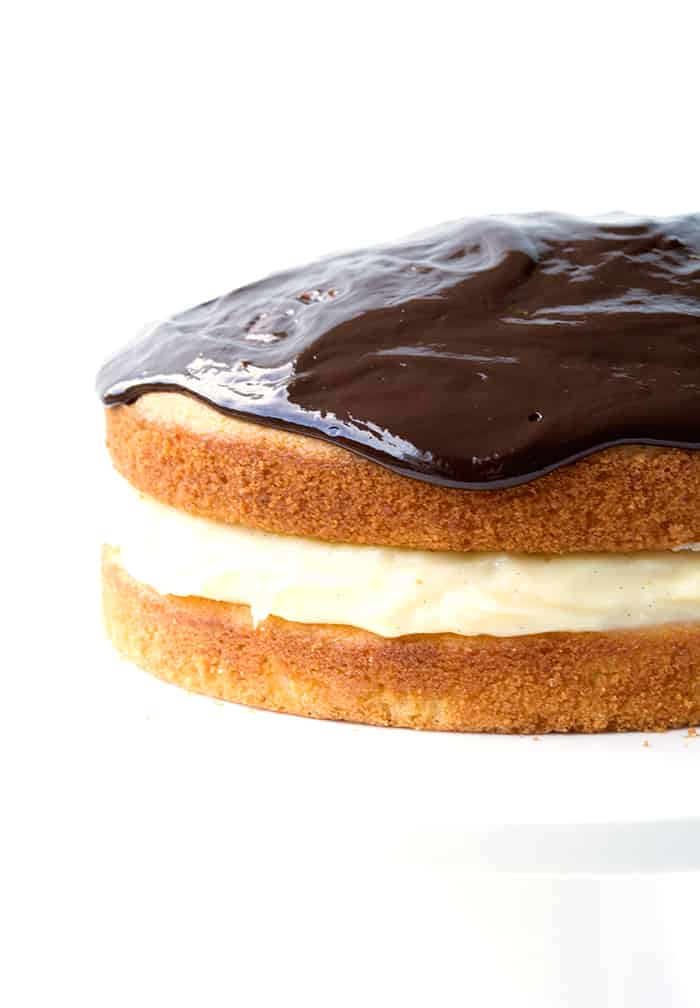 Boston Cream Pie Cake Easy