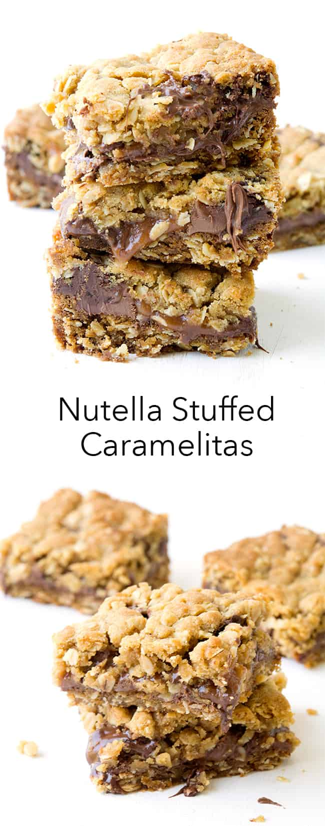 Nutella Stuffed Caramelitas | Sweetest Menu