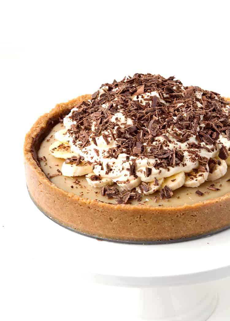 No Bake Banoffee Pie