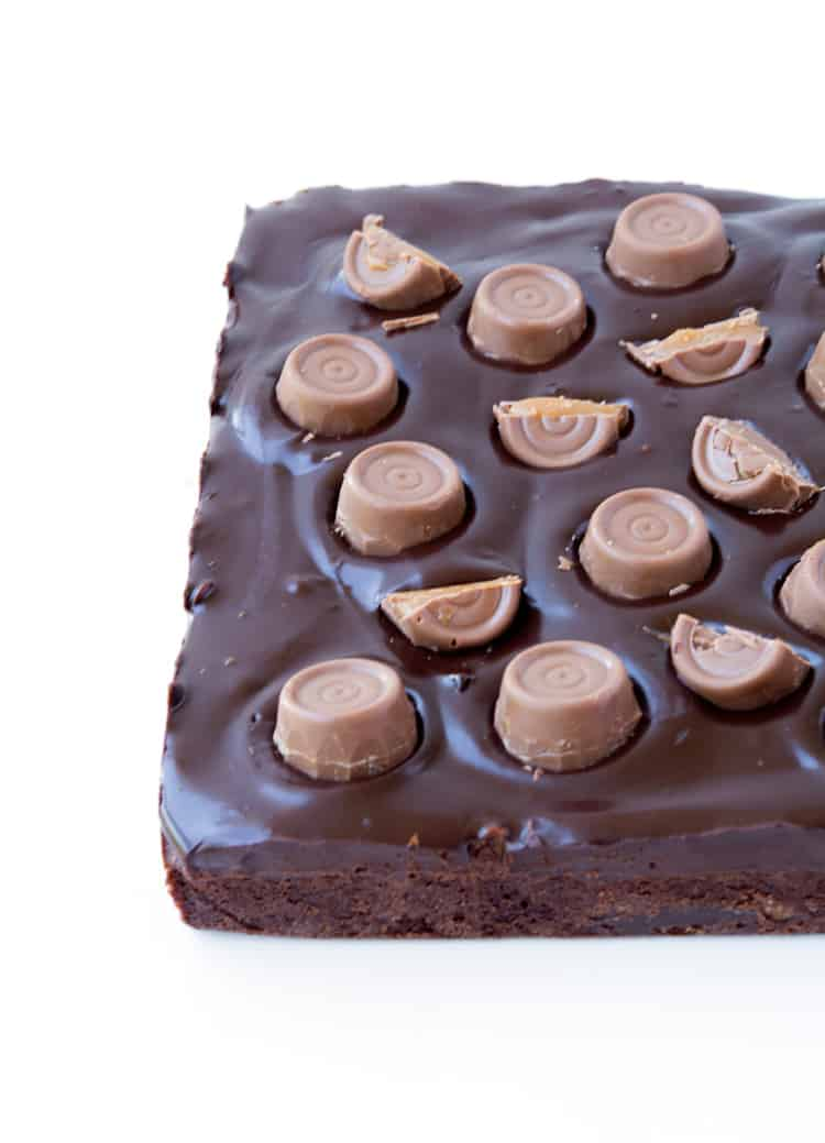 Rolo chocolate brownies