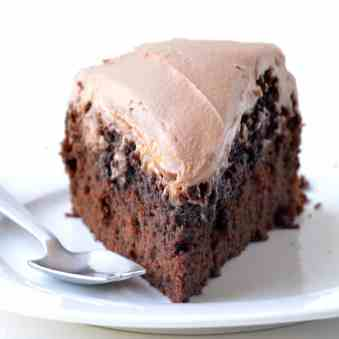 Chocolate Mud Cake With Milk Frosting