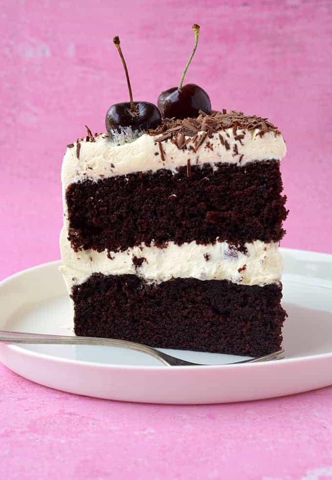 Amazing Black Forest Cake Sweetest Menu