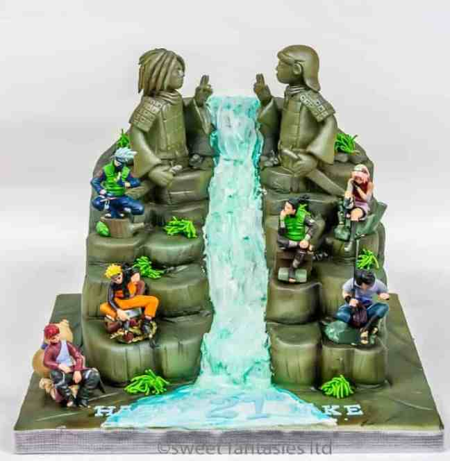 3D 21st Birthday Cake, Hashirama Senju vs Madara Uchiha . The Final Valley