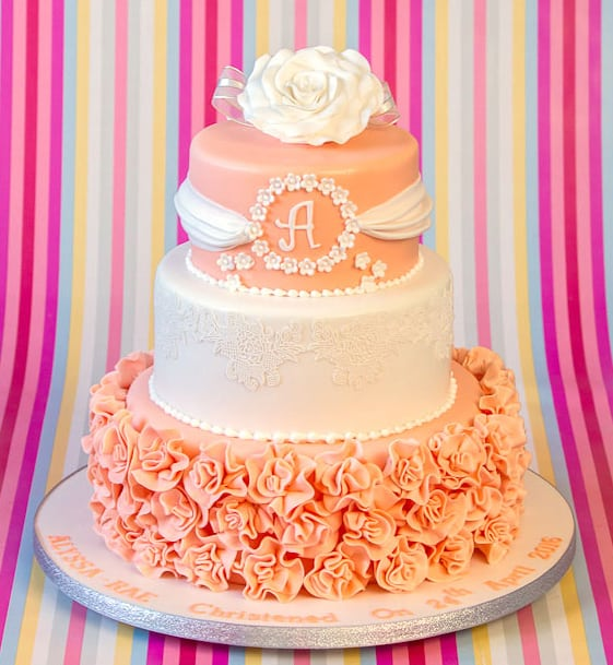 How to Choose a Christening Cake Design - sweet fantasies cakes