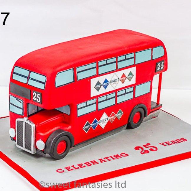 3d route master bus