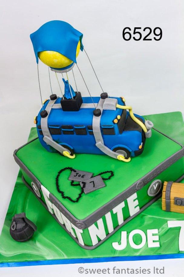 Boys Fortnite Birthday Cake