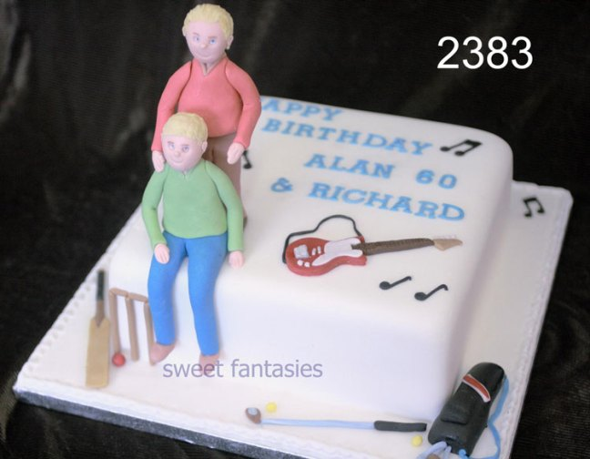 music birthday cake - sweet fantasies