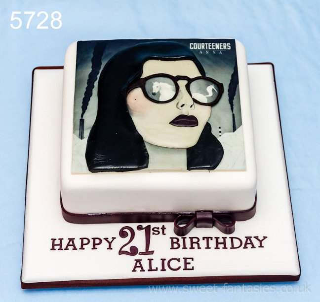 Album Cover - Girls 21st birthday cake