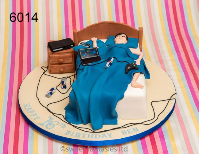Cakes for a boy
