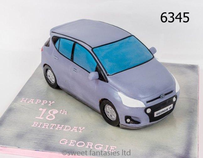 3D Hyundai i10 Birthday Cake
