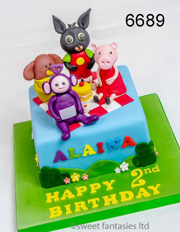 Boys Cakes, Children's TV Characters Birthday Cake