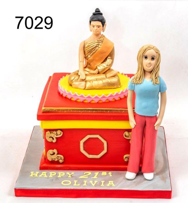 girls 21st birthday cake