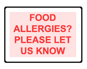 sweet fantasies food allergy info page header