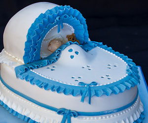 Boys Christening Cake Ideas - sweet fantasies cakes