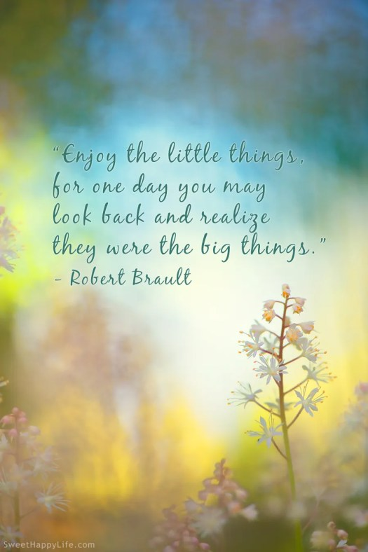 Quotes About Small Things. QuotesGram
