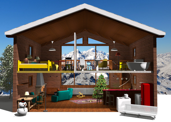Design and visualize your home interior on linux sweet home 3d. Sweet Home 3d Tips