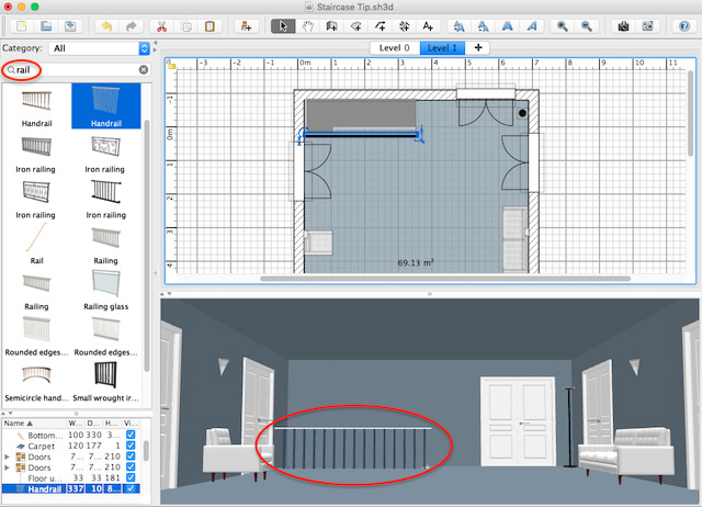 Learn sweethome3d so you can design and plan out your dream home in 2d and 3d. How To Customize Staircases Sweet Home 3d Blog